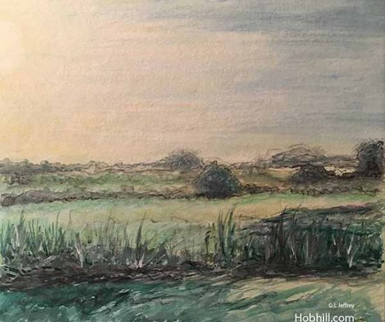 Landscape Art and Photography Hob Hill