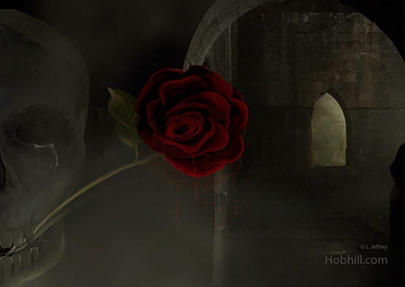 Gothic Rose hobhill.com